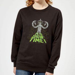 Beetlejuice It's Show-Time Women's Sweatshirt – Black – 5XL – Black
