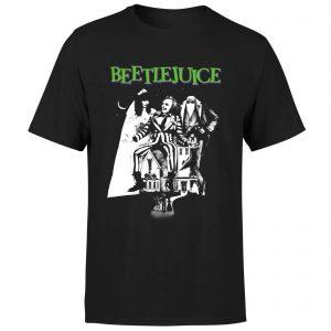 Beetlejuice Mono Poster T-Shirt – Black – XS