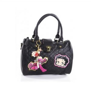 Betty Boop Busy Bee Quilted Charm Bag