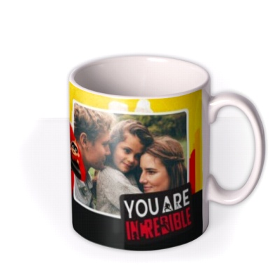 Birthday Mug by Moonpig - The Incredibles 2 Disney Pixar Photo Upload Gift Set By Delivery Available