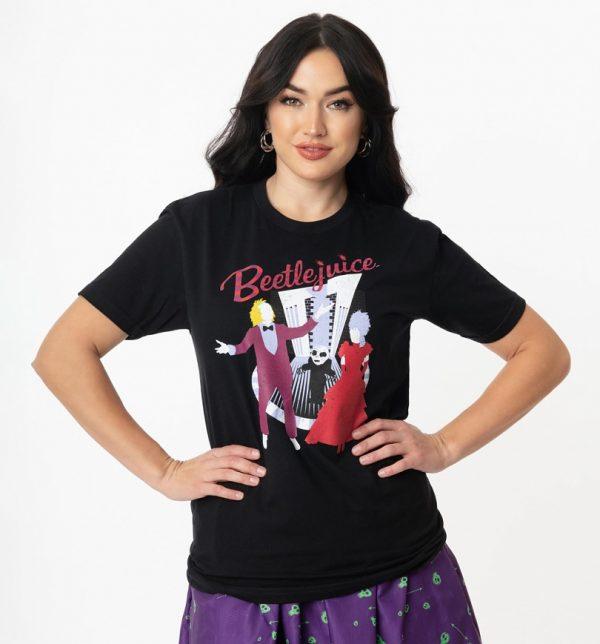 Black Beetlejuice Wedding Nightmare T-Shirt