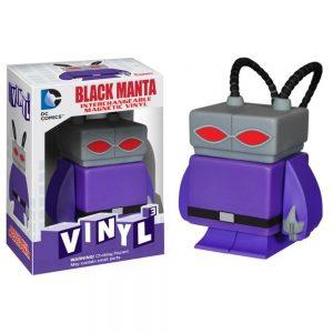 Black Manta DC Comics 3 Interchangeable Magnetic Vinyl Figure