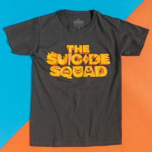 Black Suicide Squad Logo T-Shirt