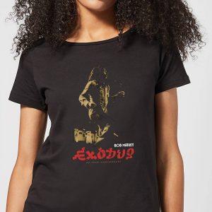 Bob Marley Exodus Women's T-Shirt – Black – S – Black