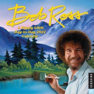 Bob Ross Desk Calendar 2022