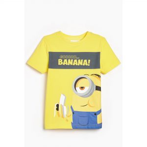 Boys Minions Go Banana! T-Shirt