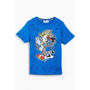 Boys Sonic The Hedgehog Graffiti T-Shirt