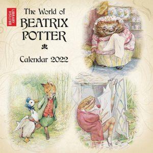 British Library, The World Of Beatrix Potter Calendar 2022