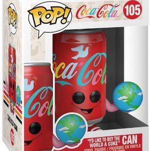 Coca Cola I'd Like To Buy The World A Coke Can Vinyl Figure 105 Funko Pop! Multicolor