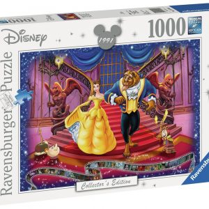 Collectors Edition Beauty And The Beast 1000 Piece Puzzzle