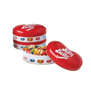 Collectors Tin Of 50 Assorted Flavours Jelly Belly (200g) Gift Set By Moonpig – Delivery Available