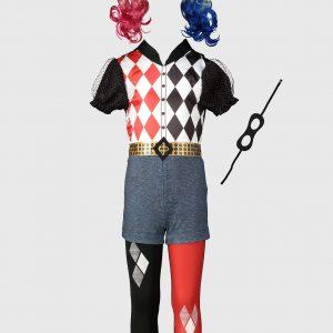 DC Comics Harley Quinn Costume – 9-10 Years