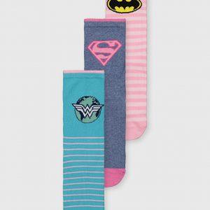 DC Comics Justice League Socks 3 Pack – 4-8