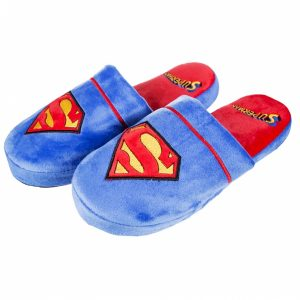 DC Comics Superman Slip On Slippers