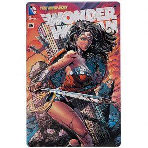 DC Comics Wonder Woman #36 Tin Plate Poster
