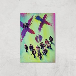DC Suicide Squad Giclee Art Print – A4 – Print Only