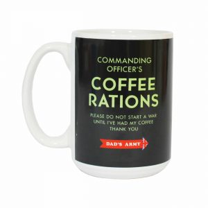 Dad's Army, Coffee Rations Official Mug