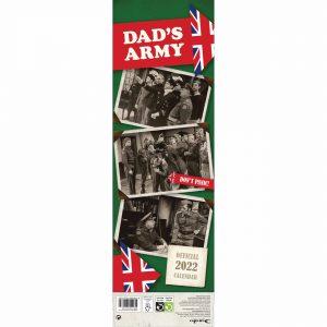 Dad's Army Official Slim Calendar 2022