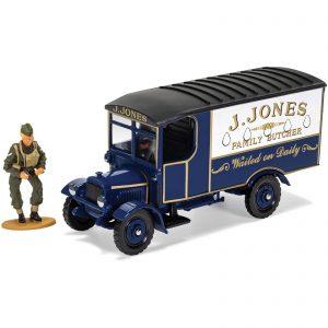 Dads Army TV Series J. Jones Thornycroft Van And Mr Jones Figure Model Set – Scale 1:50