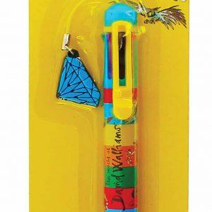 David Walliams Multi-Colour Pen