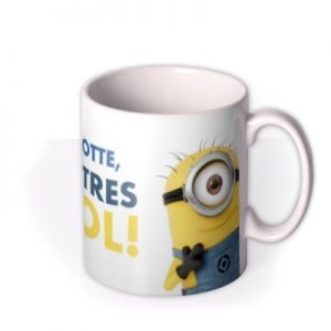 Despicable Me Minion Personalised Tres Cool Mug By Moonpig, Gift Set – Delivery Available