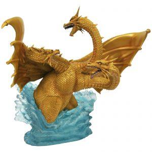 Diamond Select Godzilla Gallery PVC Figure – King Ghidorah (1991)