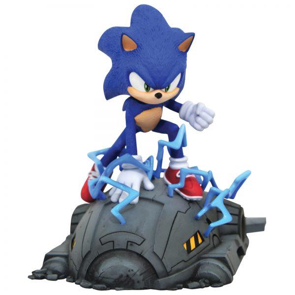 Diamond Select Sonic The Hedgehog Movie Gallery PVC Figure - Sonic