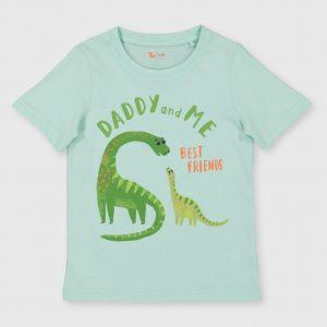 Dinosaur 'Daddy & Me, Best Friends' T-Shirt – 1-1.5 Years