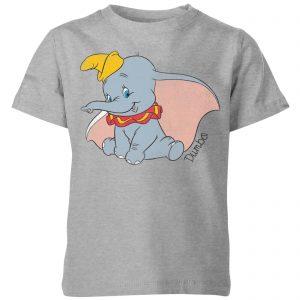 Disney Dumbo Classic Kids' T-Shirt – Grey – 3-4 Years