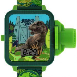 Disney Jurassic Park Kids Green Plastic Strap Watch