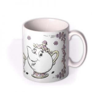 Disney Mug By Moonpig – Beauty And The Beast Chip Mrs Potts Gift Set By Delivery Available