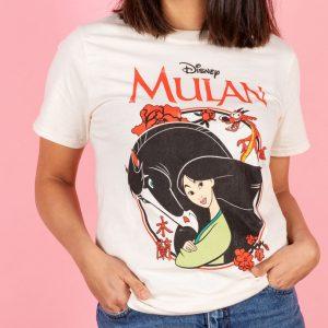 Disney Mulan Ecru T-Shirt