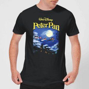 Disney Peter Pan Cover Men's T-Shirt – Black – XS
