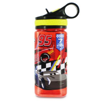 Disney Pixar Cars Water Bottle, Kids, Red, White and Yellow, Size: 460ml - From shopDisney