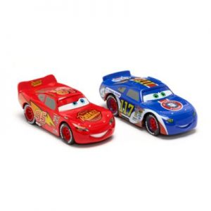Disney Pixar Lightning McQueen And Ralph Carlow Cars Die-Cast Twin Pack, Metal, Boys, Size: 4x4x8cm – From ShopDisney