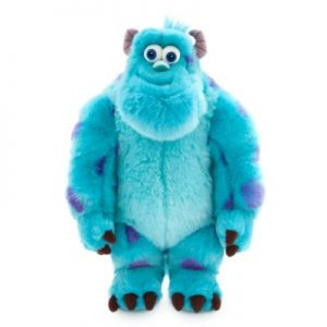 Disney Pixar Monsters Inc.'s Sulley Medium Soft Toy, Blue, Brown And Purple – From ShopDisney, Size: 38x28x2cm