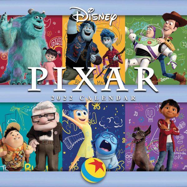Disney, Pixar Official Calendar 2022