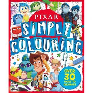 Disney Pixar Simply Colouring