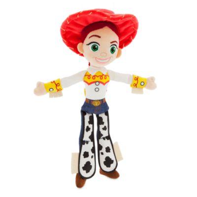 Disney Pixar Toy Story's Jessie Mini Bean Bag, Kids, Red, Blue and White, Size: 28x11x6cm - From shopDisney