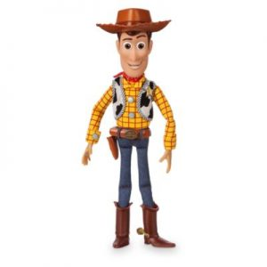 Disney Pixar Toy Story's Woody Interactive Talking Action Figure, Kids, Size: 35x7x6cm – From ShopDisney, Boys