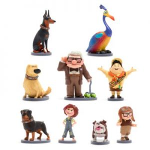 Disney Pixar Up Deluxe Figurine Playset, Boys, Size: 4.5-11.5cm – From ShopDisney