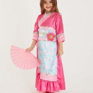 Disney Princess Mulan Pink Costume – 5-6 Years