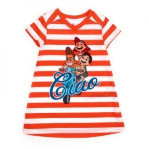 Disney Store Luca Nightdress, Girls, Orange/White – From ShopDisney