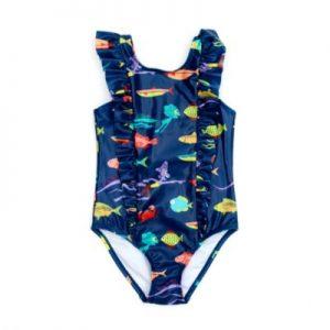 Disney Store Luca Swimming Costume, Girls, Dark Blue – From ShopDisney