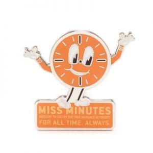 Disney Store Miss Minutes Pin, Loki – From ShopDisney