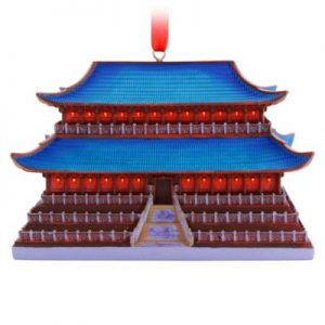 Disney Store Mulan Castle Collection Ornament, 3 Of 10 – From ShopDisney