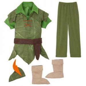 Disney Store Peter Pan Costume, Girls, Green – From ShopDisney