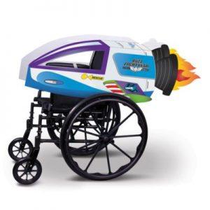 Disney Store Pixar Buzz Lightyear Star Command Spaceship Wheelchair Cover Set, Blue/White – From ShopDisney