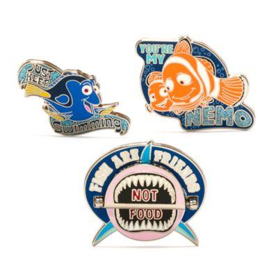 Disney Store Pixar Finding Nemo Pin Set - From shopDisney