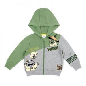 Disney Store Raya And The Last Dragon Hooded Sweatshirt, Boys, Grey And Green – From ShopDisney